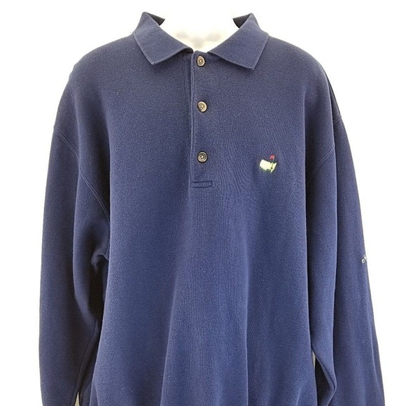 MASTERS Collection Other - MASTERS COLLECTION Vtg Men's 1/4 Button Pullover